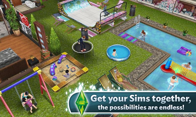 Sims Cinema Freeplay images